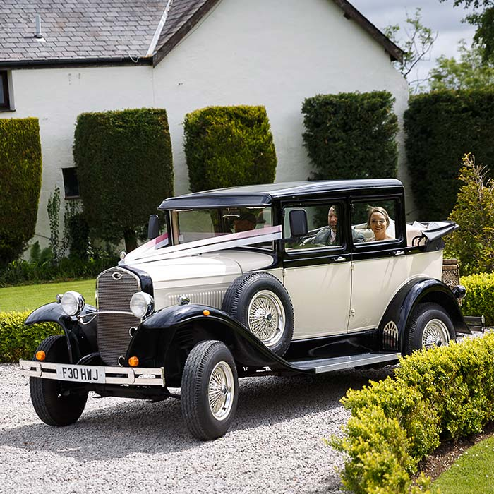 Peaky Blinders Wedding Car