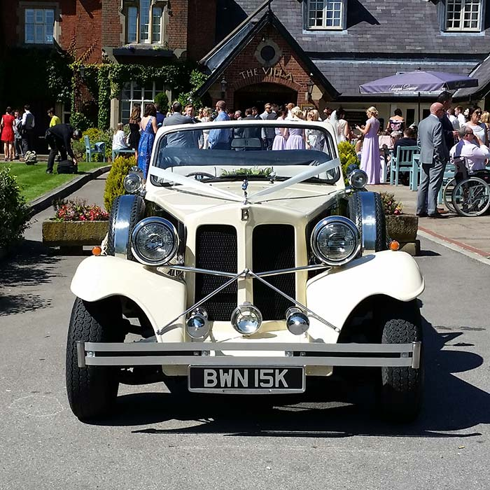 Beauford Classic Wedding Car