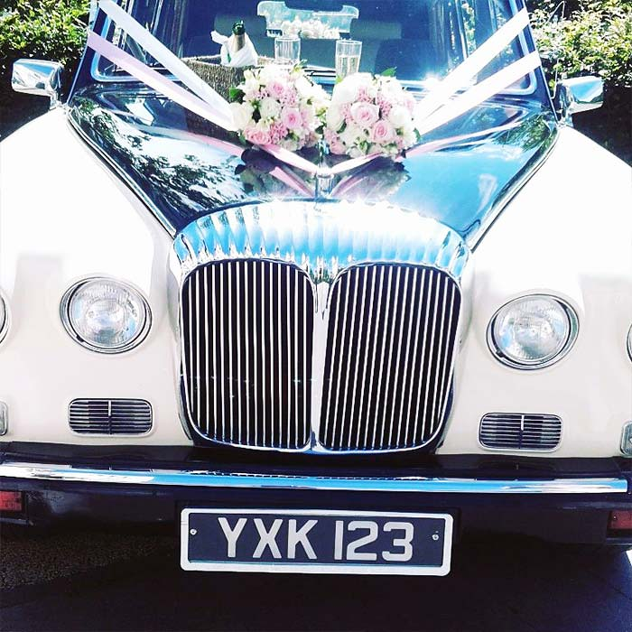 Daimler Landaulette Wedding Car